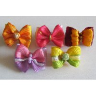 Rubber Bands, Bows, Hairpins, Wraps